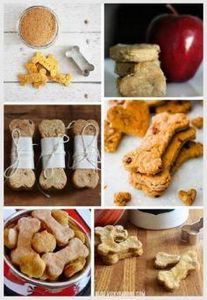 6 Homemade Dog Treat Recipes | Thi - 400 Dog Food And Dog Treat Recipes - RecipePin.com