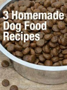 3 Homemade Dog Food Recipes / http - 400 Dog Food And Dog Treat Recipes - RecipePin.com
