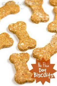 No-Flea Dog Biscuits | bakeatmidni - 400 Dog Food And Dog Treat Recipes - RecipePin.com