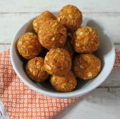 Peanut Butter Pumpkin Dog Balls -  - 400 Dog Food And Dog Treat Recipes - RecipePin.com