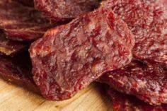 DIY Chicken or Beef Jerky Treats f - 400 Dog Food And Dog Treat Recipes - RecipePin.com