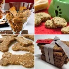 Cookies for Canines - Recipes - 400 Dog Food And Dog Treat Recipes - RecipePin.com