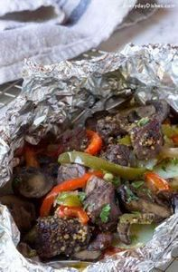 Our easy-to-assemble beef and vegg - 290 Foil Packet Recipes - RecipePin.com