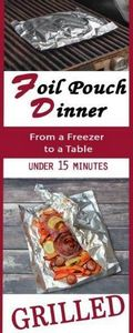 Looking for easy dinner ideas? Gri - 290 Foil Packet Recipes - RecipePin.com