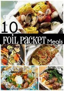 10 Easy Foil Packet Meals for the  - 290 Foil Packet Recipes - RecipePin.com