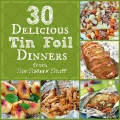 30 Delicious Tin Foil Dinners   Si - 290 Foil Packet Recipes - RecipePin.com