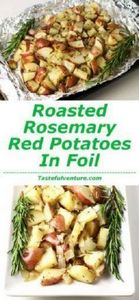 These Roasted Rosemary Red Potatoe - 290 Foil Packet Recipes - RecipePin.com