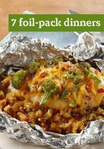 7 Foil-Pack Dinners – These foil-p - 290 Foil Packet Recipes - RecipePin.com
