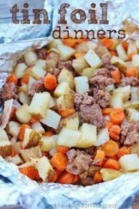 30 Delicious Tin Foil Dinners | Si - 290 Foil Packet Recipes - RecipePin.com