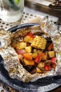 BBQ Party Pack! Easy-to-make food  - 290 Foil Packet Recipes - RecipePin.com