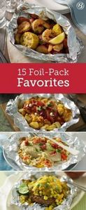 With minimum effort and practicall - 290 Foil Packet Recipes - RecipePin.com
