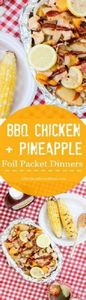 Juicy grilled chicken and bacon ar - 290 Foil Packet Recipes - RecipePin.com