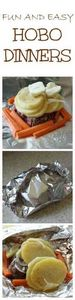 Fun And Easy Hobo Dinner Recipes - 290 Foil Packet Recipes - RecipePin.com