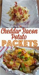The Country Cook: Cheddar Bacon Po - 290 Foil Packet Recipes - RecipePin.com