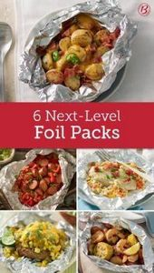 Trust us, you can't get your grill - 290 Foil Packet Recipes - RecipePin.com