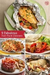 Fill, fold, grill and bam—dinner i - 290 Foil Packet Recipes - RecipePin.com