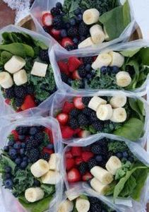 batching green smoothies in advanc - 125 Freezer Smoothie Pack Recipes - RecipePin.com