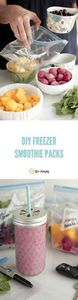 Save money and time with homemade  - 125 Freezer Smoothie Pack Recipes - RecipePin.com