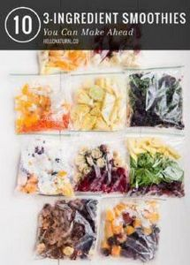 Getting ready for the week? If you - 125 Freezer Smoothie Pack Recipes - RecipePin.com