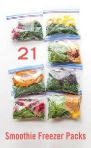 If you love the idea of adding mor - 125 Freezer Smoothie Pack Recipes - RecipePin.com