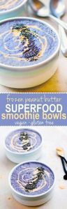 Frozen Peanut Butter SuperFood Smo - 125 Freezer Smoothie Pack Recipes - RecipePin.com