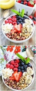 Berry Banana Smoothie Bowl Recipe  - 125 Freezer Smoothie Pack Recipes - RecipePin.com