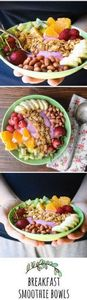 Breakfast Smoothie Bowls - You don - 125 Freezer Smoothie Pack Recipes - RecipePin.com