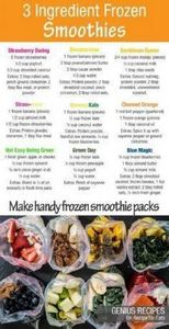 Smoothie recipes. Make ahead freez - 125 Freezer Smoothie Pack Recipes - RecipePin.com