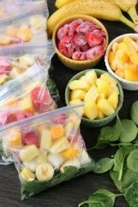 Prep these smoothie packs for the  - 125 Freezer Smoothie Pack Recipes - RecipePin.com