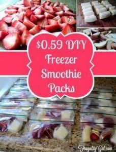 Cheap and Healthy DIY Freezer Smoo - 125 Freezer Smoothie Pack Recipes - RecipePin.com