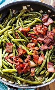 Sweet and Sour Green Beans with lo - 195 Green Bean Recipes - RecipePin.com