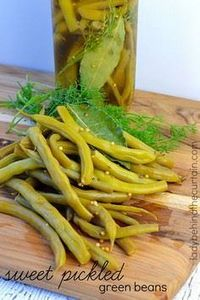 Sweet Pickled Green Beans - makes  - 195 Green Bean Recipes - RecipePin.com