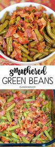 Smothered Green Beans - 195 Green Bean Recipes - RecipePin.com