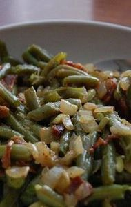 Home Style Green Beans with bacon, - 195 Green Bean Recipes - RecipePin.com