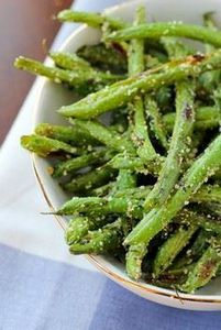Roasted Green Beans with Parmesan  - 195 Green Bean Recipes - RecipePin.com
