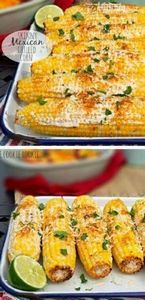 Skinny Mexican Grilled Corn is the - 290 Grilling Recipes - RecipePin.com