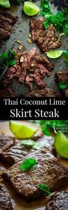 grilled thai coconut lime skirt st - 290 Grilling Recipes - RecipePin.com