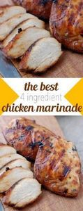 the best 4 ingredient chicken mari - 290 Grilling Recipes - RecipePin.com