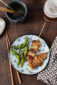 These Japanese Grilled Chicken Ske - 290 Grilling Recipes - RecipePin.com