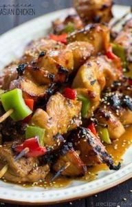Grilled Asian Chicken Recipe - 290 Grilling Recipes - RecipePin.com