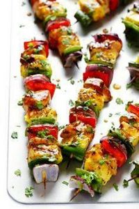 Yup!  Add color AND flavor to dinn - 290 Grilling Recipes - RecipePin.com