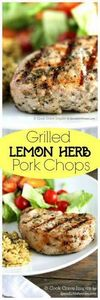 These are my favorite pork chops!  - 290 Grilling Recipes - RecipePin.com