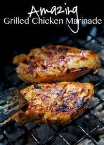Amazing Grilled Chicken Marinade R - 290 Grilling Recipes - RecipePin.com