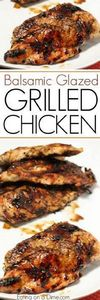 Balsamic glazed chicken - easy to  - 290 Grilling Recipes - RecipePin.com