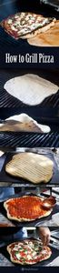 Grilling pizza is the easiest way  - 290 Grilling Recipes - RecipePin.com