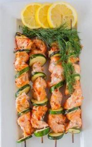 Lemon and Dill Barbecued Salmon Ka - 290 Grilling Recipes - RecipePin.com