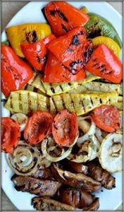 BALSAMIC GRILLED VEGETABLES Happil - 290 Grilling Recipes - RecipePin.com