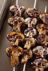 Marinated grilled mushrooms - Oh m - 290 Grilling Recipes - RecipePin.com