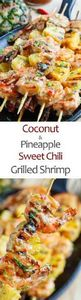 Grilled Coconut and Pineapple Swee - 290 Grilling Recipes - RecipePin.com