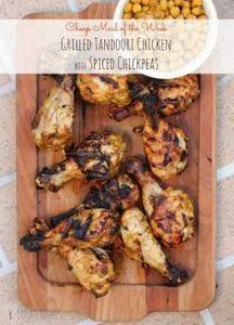 Grilled Tandoori Chicken with Spic - 290 Grilling Recipes - RecipePin.com